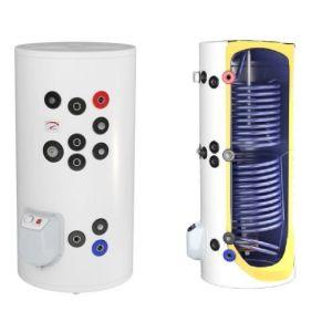 Boilere termoelectrice emailate cu doua serpentine Eldom Green Line - 300 litri