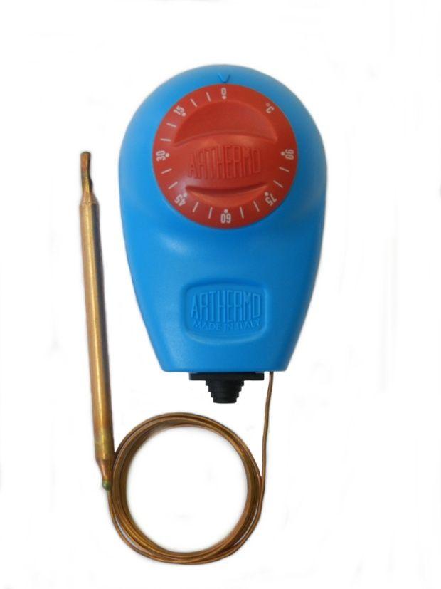 Termostat de imersie tub capilar productie Arthermo Italia