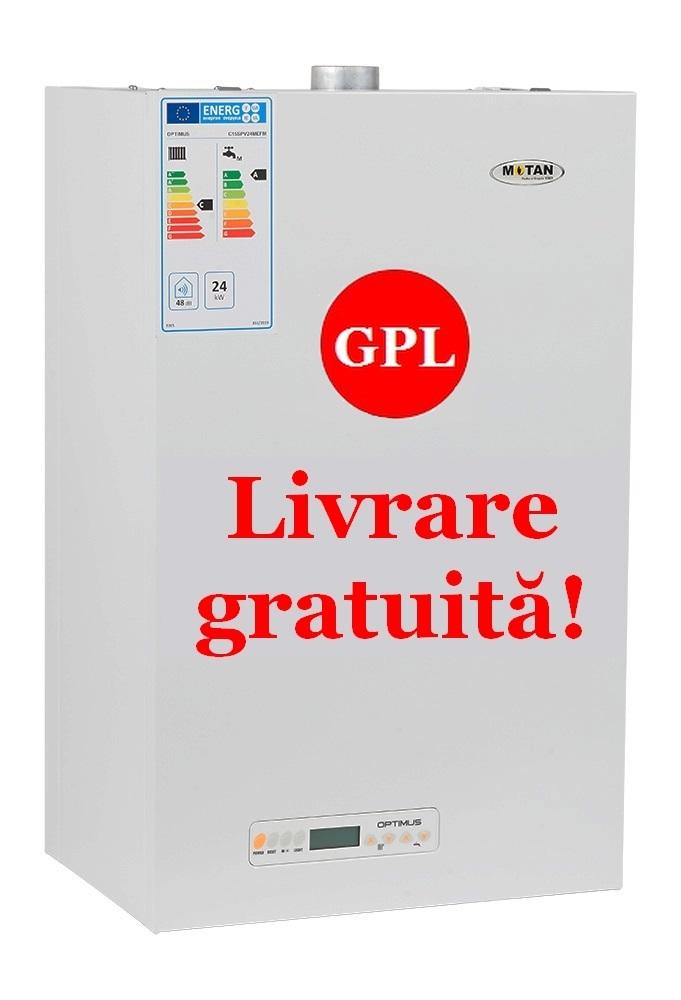 Centrala termica Motan Optimus ERP C15SPV24MEFM 24 Kw GPL