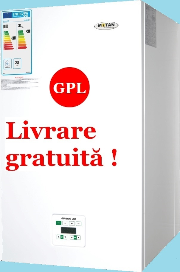 Centrala termica in condensatie Motan Green 28 kW GPL