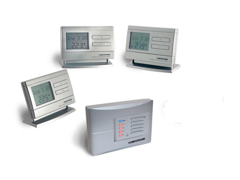 Termostat Computherm Q8 RF set cu trei termostate