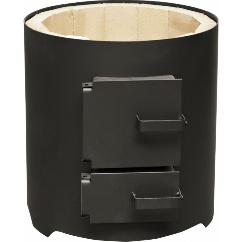 Focar pentru boiler cu usi din tabla