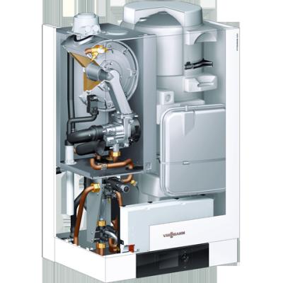 Centrala termica in condensatie Viessmann Vitodens 222-W 35 kW cu boiler incorporat