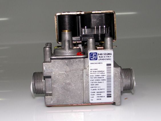 Vana gaz SIGMA-SIT 848