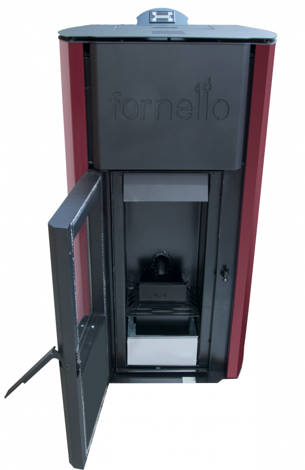 Termosemineu pe peleti FORNELLO ROYAL 25 kW
