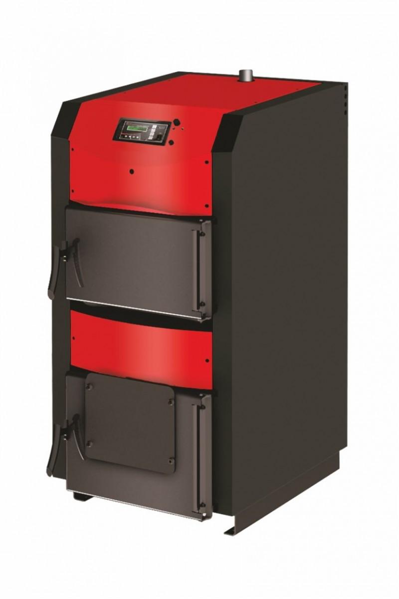 Centrala termica pe lemn cu semigazeificare BURNIT WBS Active 70 kW