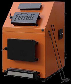 Centrala termica pe lemn Ferroli FSB 3- 150 Max, cu trei drumuri de fum