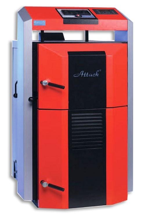 Centrala termica pe lemn cu gazeificare ATTACK 45 DP PROFI
