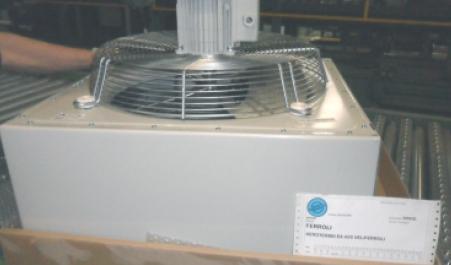 Aeroterma standard cu agent termic apa FERROLI