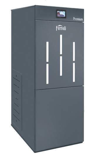 Centrala termica pe peleti cu autocuratare Ferroli BioPellet Premium