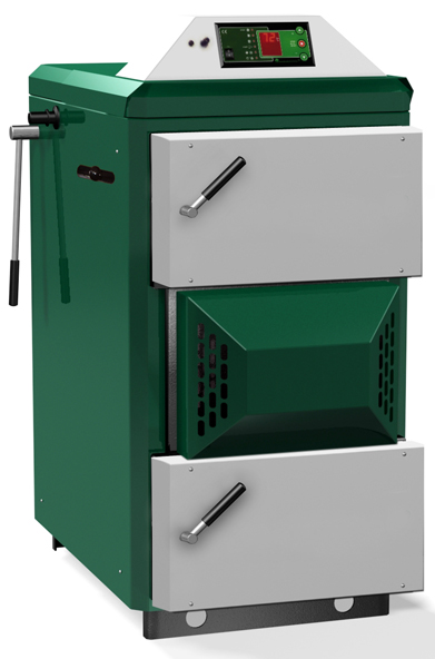 Centrala termica pe lemn cu gazeificare ORLAN SUPER 130 kW