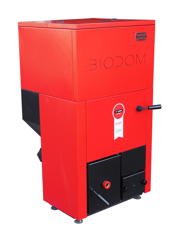 Centrala termica pe peleti BIODOM B27 C5 30 kW