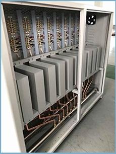 Centrala termica electrica cu inductie OFS-DTL 200 kW - vedere interioara