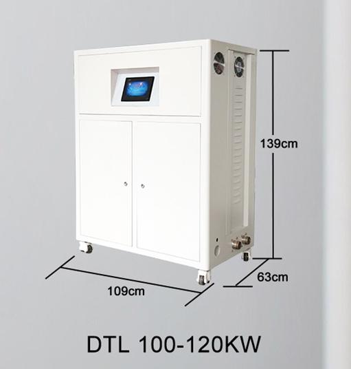 Centrala termica electrica cu inductie OFS-DTL 100 kW - dimensiuni de gabarit