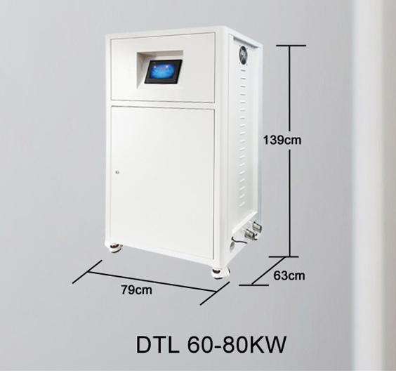 Centrala termica electrica cu inductie OFS-DTL 60 kW - dimensiuni de gabarit