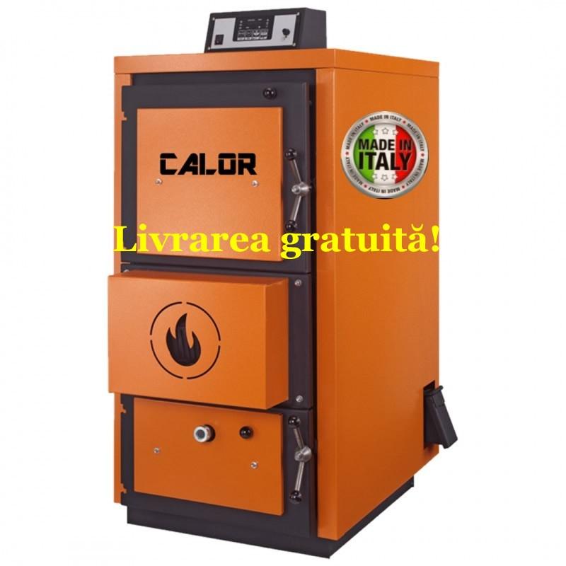 Centrala termica pe lemn cu gazeificare CALOR ASPIRO - Livrarea gratuită