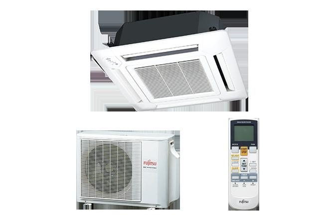 Echipament de climatizare tip caseta FUJITSU AUYG18LVLB/AOYG18LALL 18000 BTU