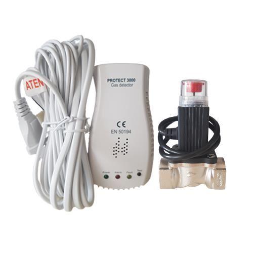 DETECTOR GAZ PROTECT P3000 CU ELECTROVANA Ø 3/4