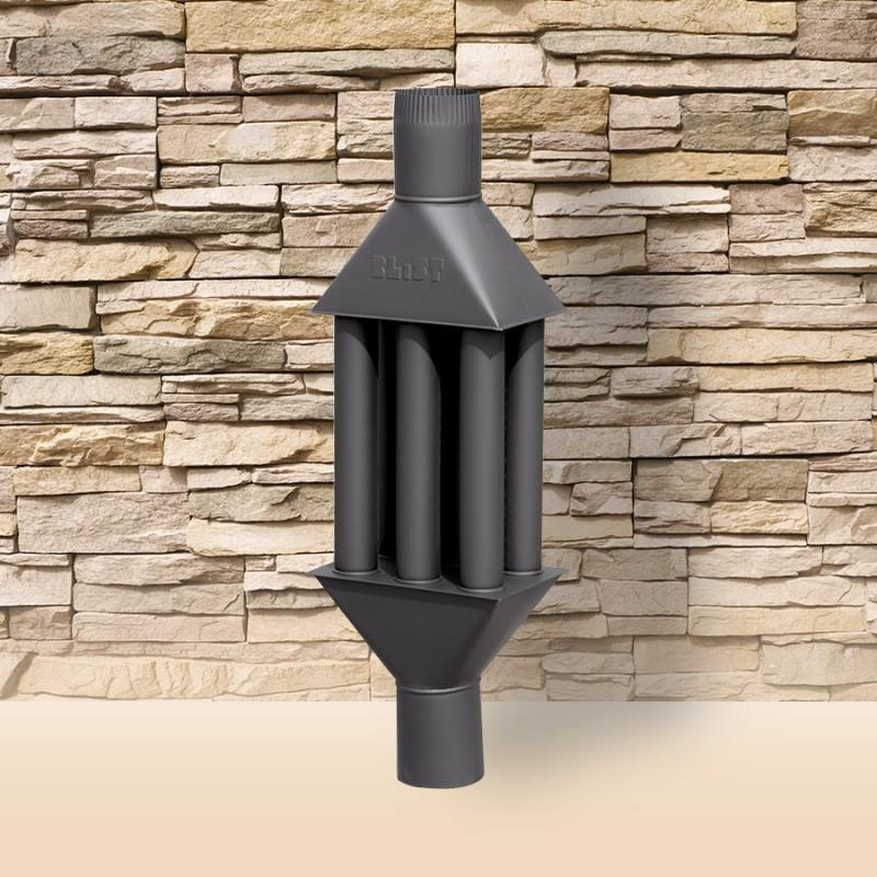 Recuperator de caldura culoare neagra 100 cm