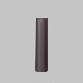 Burlan din tabla de otel de culoare neagra 0.5 m
