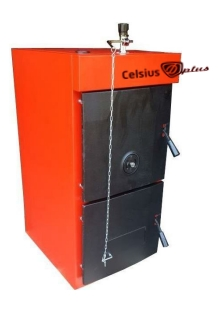 poza Centrala termica pe lemn de fonta Celsius D Plus 7 38 kW