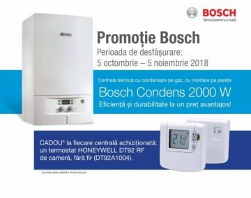 poza Centrala termica pe gaz in condensatie Bosch Condens 2000W ZWB24-1AR + termostat wireless