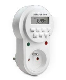 poza Priza programabila 8 programe /zi. Indispensabila in sistemul de apa calda menajera. 250VAC, 50HZ, 16A, 3600W