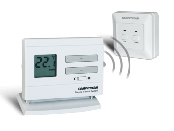 poza Termostat Computherm Q3 RF ambiental fara fir wireless fara programare