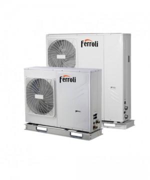 poza Pompa de caldura aer-apa reversibila Ferroli RVL-I PLUS 12T 12 kW
