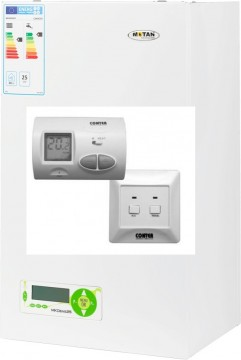 poza Centrala termica Motan MKDENS 25 Kw C14SPV25MEF ERP 25 Kw cu termostat WIFI