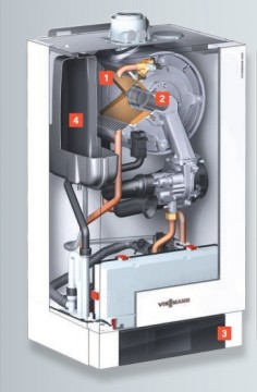Poza Centrala termica pe gaz in condensatie Vitodens 200-W