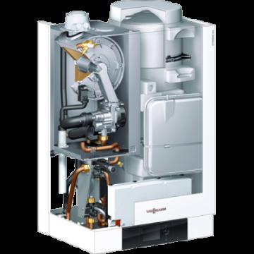 poza Centrala termica in condensatie Viessmann Vitodens 222-W 35 kW cu boiler incorporat