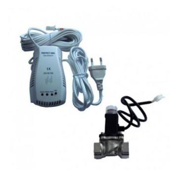 poza DETECTOR GAZ PROTECT 9V-2000 CU ELECTROVALVA 3/4