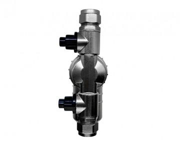 Poza Filtru dual pentru impuritati magnetice si nemagnetice CENTRAMAG GENESIS DN 22 mm - vedere din spate