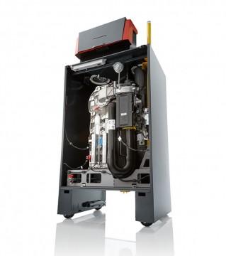Poza Centrala termica in condensatie pentru gaz metan REMEHA G220 ACE - vedere din fata dreapta fara capac