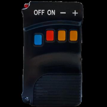 Poza Termosemineu pe peleti FORNELLO ROYAL 18 kW - telecomanda