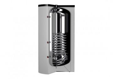 Poza Boiler termoelectric din inox cu o serpentina CORDIVARI BOLLY 1 ST XB 150 litri - sectiune