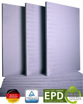 poza Placi refractare profesionale din silicat de calciu SILCA 1000x625x25 mm