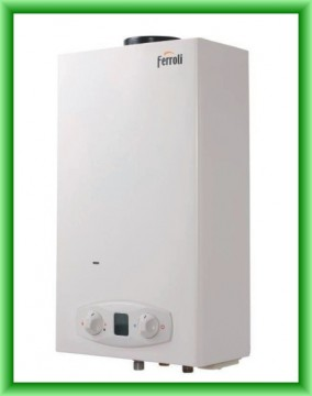 poza Instant de apa calda Ferroli ZEFIRO ECO 11 GAZ METAN