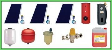 Poza Pachet solar SUNSYSTEM cu trei panouri plane PK SL/CL 2.15 mp + boiler SON V S2/400