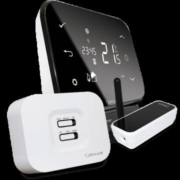 Poza Controler de temperatura conectat la Internet SALUS iT500 cu senzor de temperatura cu radiofrecventa