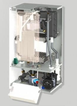 Poza Centrala termica in condensatie CONDENS 050 24 kW - vedere interioara, fara capac