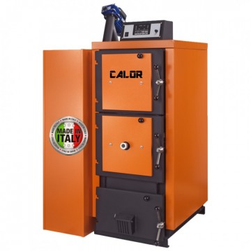 Poza Centrala termica mixta pe lemn si peleti CalorCaldaie MX Automatica