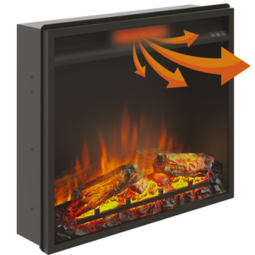 Poza Focar de semineu electric TAGU PowerFlame - distributie aer cald