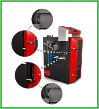 Poza Centrale termice pe lemn cu gazeificare ATACK DPX - detalii elemente constructive