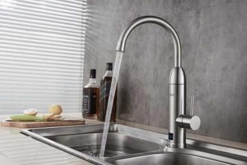 Poza Robinet electric cu incalzire instantanee a apei CREEK 3000 W - exemplu de montaj