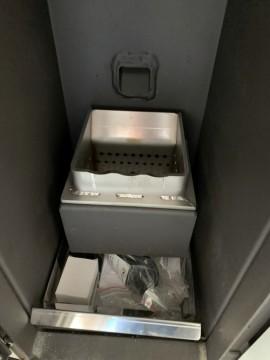 Poza Centrala termica pe peleti ROSSI CAMINO COMPACT 25 kW - vedere interioara
