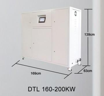 Poza Centrala termica electrica cu inductie OFS-DTL 160 kW - dimensiuni de gabarit