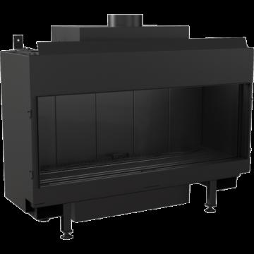 Poza Semineu pe gaz metan tip insert L100 10 kW