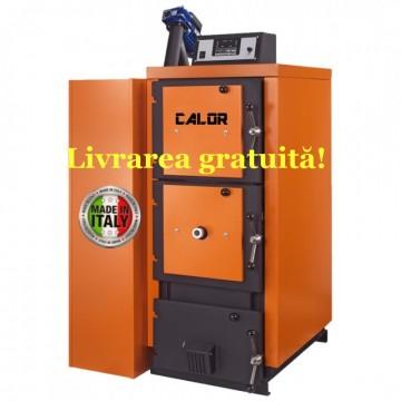 Poza Centrala termica mixta pe lemn si peleti CalorCaldaie MX Automatica - Livrarea gratuită